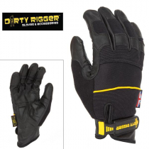 Перчатки Dirty Rigger Leather Grip (Full Handed) от магазина RiggerShop